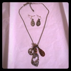 Lia Sophia Necklace & Earrings